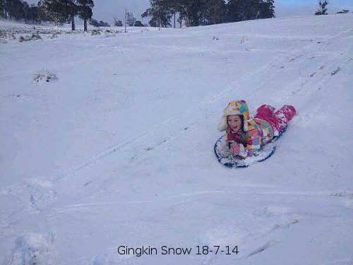 Snow in marginal conditions