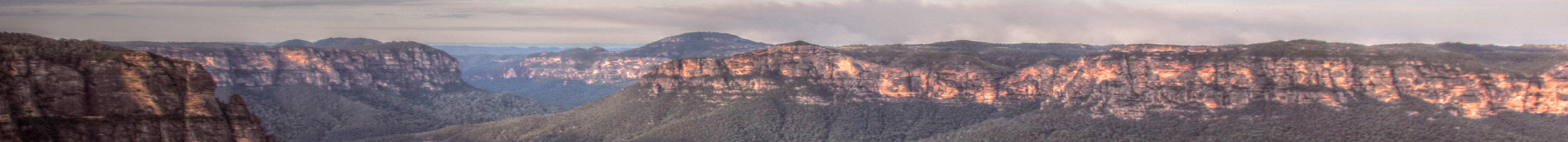 Grose Valley Sunset